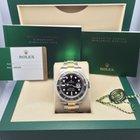Rolex Submariner BLACK YG/SS Watches