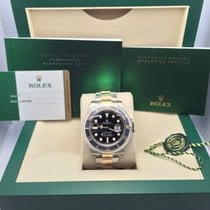 Rolex Submariner BLACK YG/SS Watches
