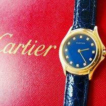 Cartier COUGAR Gelb Gold 18K 750 Brillianten Luxus Herren...