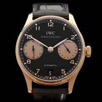 IWC Portuguese 7 Day Boutique Edition 18k Rose Gold Gents...