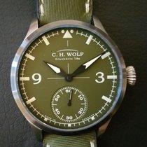 C.H. Wolf Glashütte Pilot Green