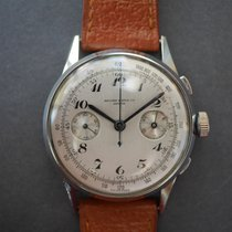 Record Geneve Vintage Chronograph Breguet Numerals