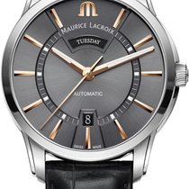 Maurice Lacroix PONTOS DAY DATE PT6358-SS001-331-1 Herren...