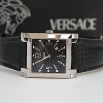 Versace cioccolatone  Mens Stainless Swiss FLQ99