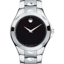 Movado Mens Luno Sport - Stainless Steel - Black Dial -...