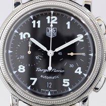 TAG Heuer Targa Florio Chronograph Edelstahl black dial Automatik