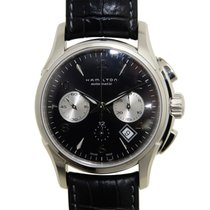 Hamilton 爵士系列 Stainless Steel Black Automatic H32656833