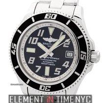 Breitling Superocean Superocean 42 Stainless Steel Black Dial