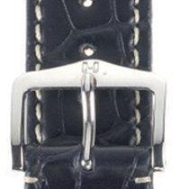 Hirsch Viscount Lederband schwarz L 20mm 10270759-2-20