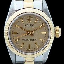 Rolex Lady Oyster Perpetual en or et acier