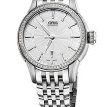 Oris Artelier Date Diamonds Steel/Diamonds Steel Bracelet