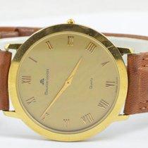Maurice Lacroix Classic Herren Uhr Stahl/stahl Quartz 34mm...