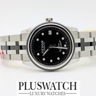 Tudor Glamour Date 31mm Black Dial With Diamonds R