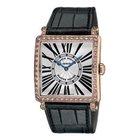 Franck Muller 6002MQZD1RBLR5N  Master Square Rose Gold Diamond