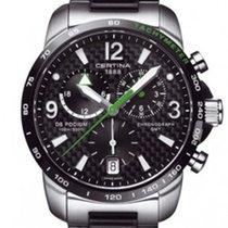 Certina DS Podium GMT Farbe Schwarz Grün