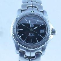 TAG Heuer Professional Link Damen Uhr 32mm Stahl/stahl Quartz...