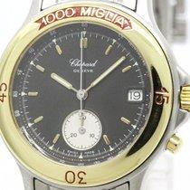 Chopard Polished Chopard Mille Miglia Chronograph 18k Gold...