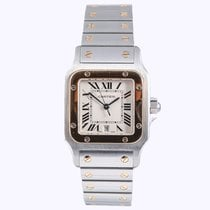 Cartier Santos Gold and Steel