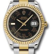 Rolex Datejust II MEN'S LUXURY WATCH 18K Yellow Gold &...