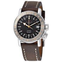 Glycine Airman 18 Automatic Black Dial Men's Watch