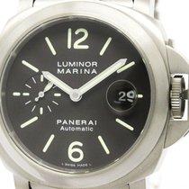 Panerai Polished  Luminor Marina Titanium Automatic Mens Watch...