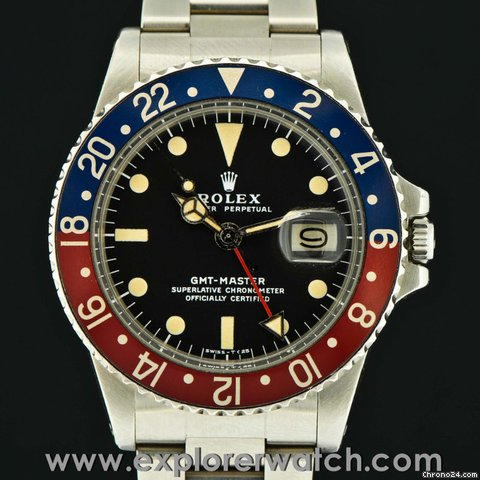 Rolex GMT-MASTER 1675 PERFECT CONDITION