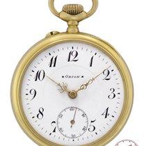 Orion Mans Pocket Watch Bern 1910 so called Schuetzenuhr # 212