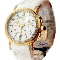 Breguet Marine Lady Chronograph Diamond Bezel & Lugs