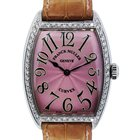 Franck Muller 7502 QZ Curvex Diamond Bezel Ladies Watch