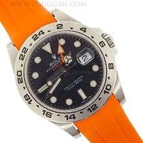Rubber B orange strap for Submariner Click here here for full...