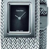 ck Calvin Klein Mesh K5L13131 Damenarmbanduhr Design Highlight
