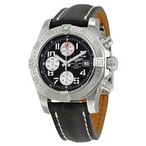 Breitling Avenger II Automatic Chronograph Black Dial Black...