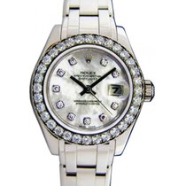 Rolex Datejust Pearlmaster 29 80299-WHTDDP White Mother of...