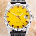 Bulova Automatic Ss 1970s 23 Jewel Watch With Date  J10