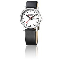 Mondaine Montre Evo Day Date Black Polished 38 mm