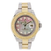 Rolex Yacht-Master 40 Steel & Yellow Gold Watch MOP Dial 2006