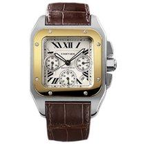 Cartier Santos 100 Chronograph w20091x7
