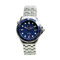 Omega Seamaster Stainless Steel Blue Automatic 212.30.41.20.03...