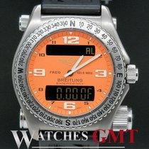 Breitling Emergency Titanium Orange Quartz E56121