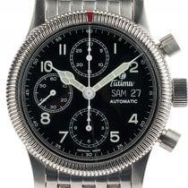 Tutima Classic Fliegerchronograph F2 Stahl Automatik Armband...