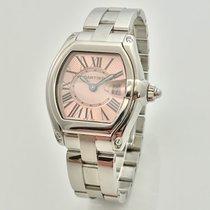 Cartier Roadster Lady Quarz Pink Rosa Stahl Full Set B+P