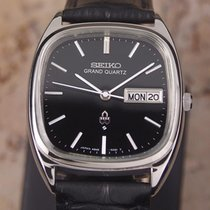 Seiko Grand Quartz 1980s Stainless Steel Men's Made In...