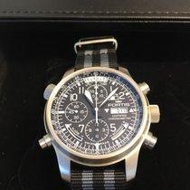 Fortis Aviatis Daybreaker Stealth Chronograph Alarm & Gmt...