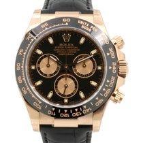 Rolex Cosmograph Daytona 116515LN Black Index Pink Tachymetre...