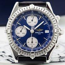Breitling A13047 Chronomat Blue Dial SS (25740)