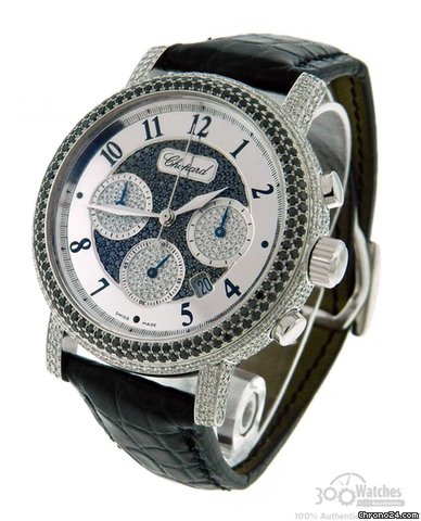 Chopard Elton John 17/1868-20 18K White Gold Diamond Watch