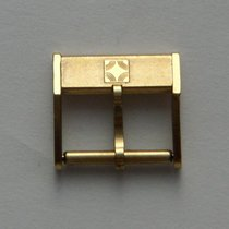 Zenith yellow gold plated buckle 14 mm, New