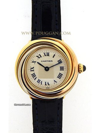 cartier trinity trois ors ladies watch for 2 600 for sale from a trusted seller on chrono24. Black Bedroom Furniture Sets. Home Design Ideas