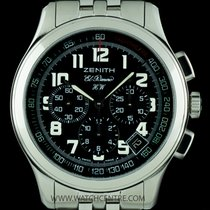 Zenith S/Steel Black Dial El Primero Chronograph HW 02.0500.420