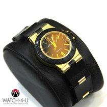 Bulgari Diagono AL32G 18kt Yellow Gold Automatic Black PVD